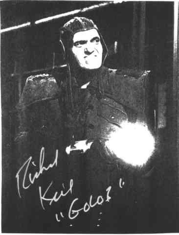 golob the humanoid autograph