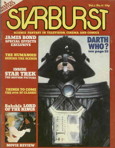 Starburst Magazine - vol 1 no 11 , 1979