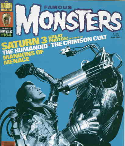Famous Monsters Magazine issue 164
